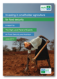 Food security and Nutrition: HLPE 2013 Reports