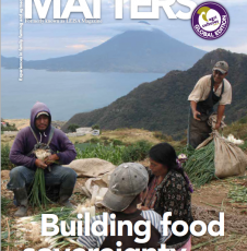 Farming Matters: Building Food Sovereignty