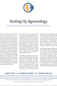 Scaling up agroecology: A tool for policy