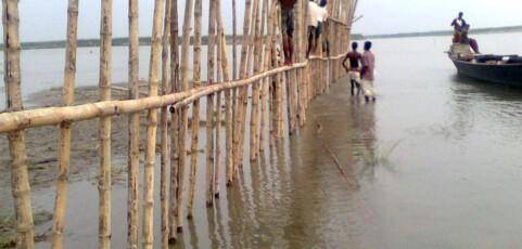 Bamboo binding in Bangladesh