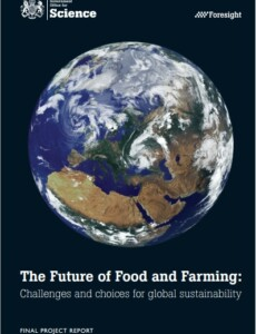 Foresight. The Future of Food and Farming. Final Project Report.