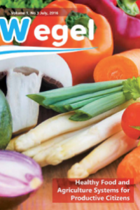 Wegel: Healthy food and Agriculture systems for productive citizens!