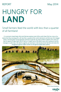 Hungry for land: small farmers feed the world with less than a quarter of all farmland