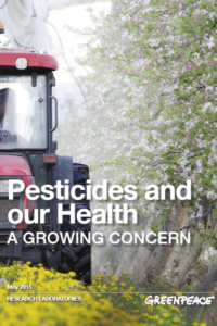 Pesticides and our Health – a growing concern