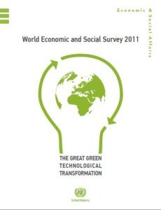 World Economic and Social Survey 2011 The Great Green Technological Transformation