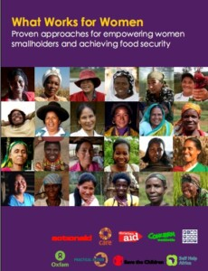 What Works for Women. Proven approaches for empowering women smallholders and achieving food security